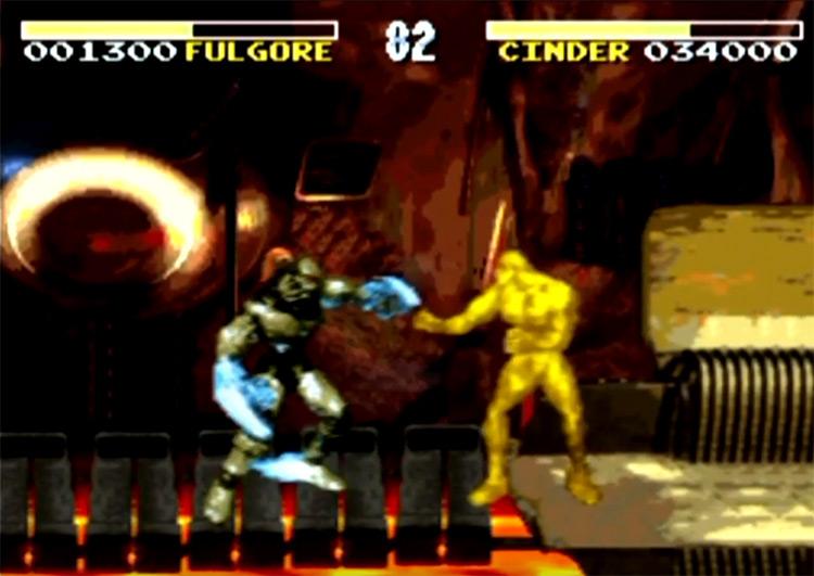 SNES Killer Instinct screenshot