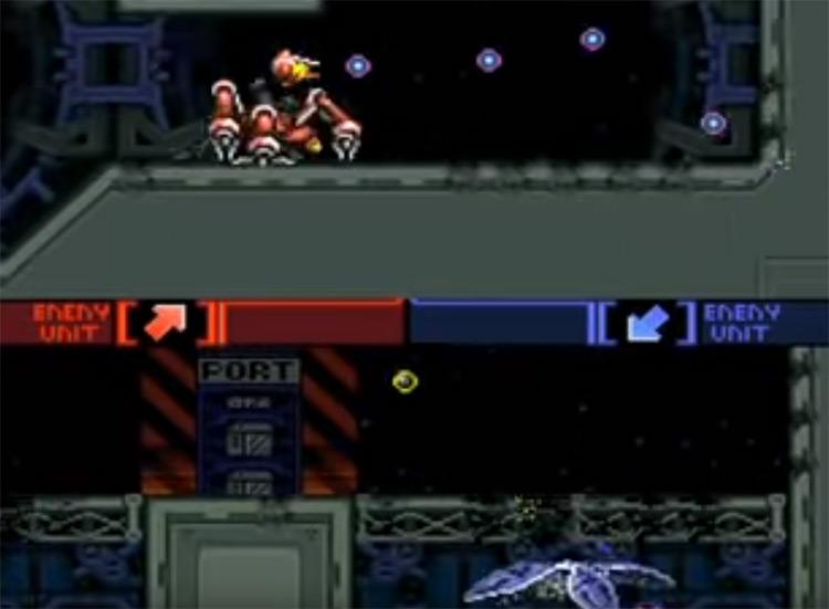 Metal Warriors SNES gameplay