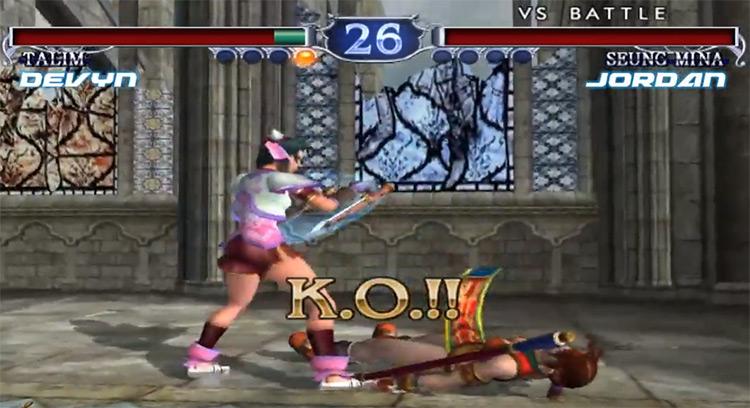 Soulcalibur II GCN screenshot