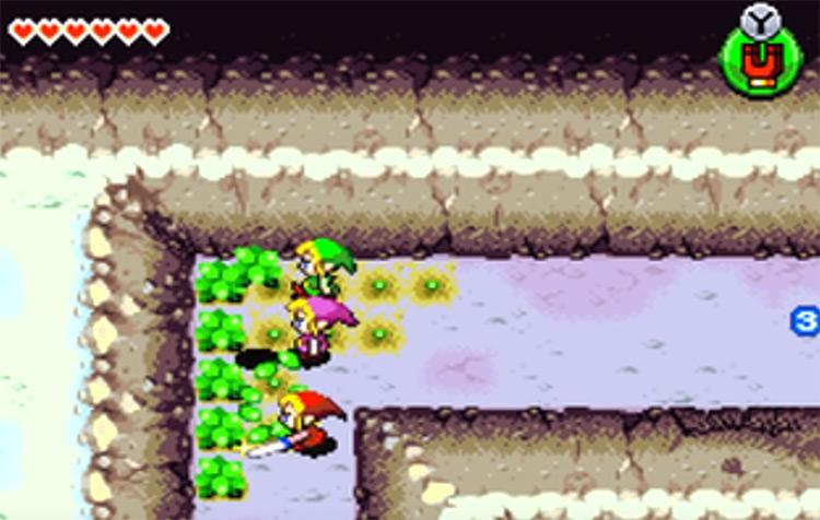 Legend of Zelda: Four Swords Adventures screenshot