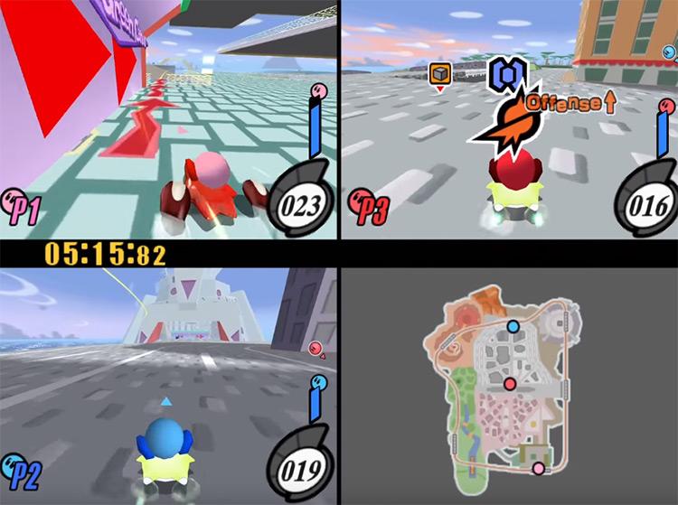 Kirby Air Ride Gamecube screenshot