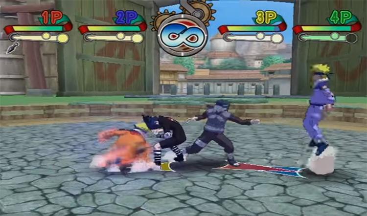 Naruto Clash of Ninja 2 screenshot