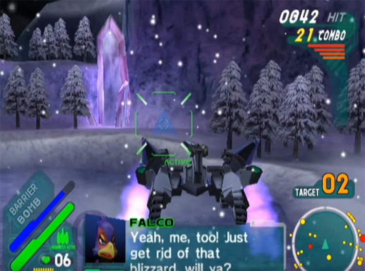 StarFox: Assault screenshot for Gamecube