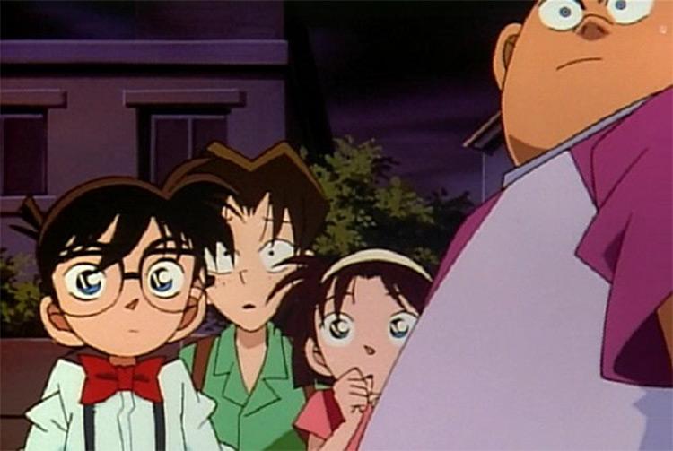 Detective Conan, best detective-themed anime