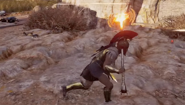 Mallet of Everlasting Flame in AC Odyssey