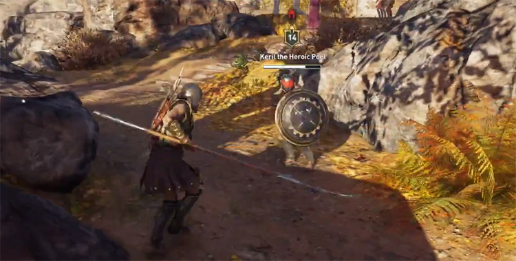 Griffin's Scythe in AC Odyssey