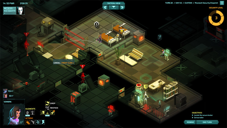 Talon Recruitment mod for Invisible Inc