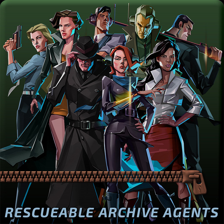 Rescuable Archive Agents mod