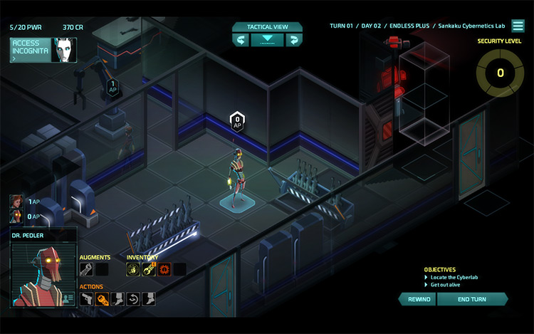 Dr. Pedler mod for Invisible Inc