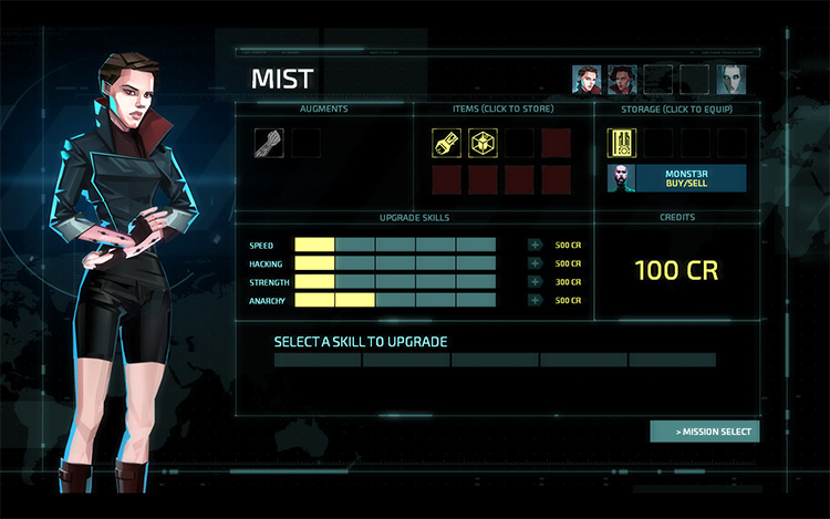 Mist – Agent Mod for Invisible Inc