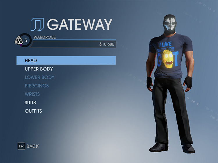 COD Ghosts Mask Replacer mod