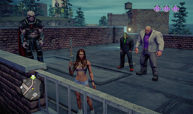 New Homies mod for SaintsRow4