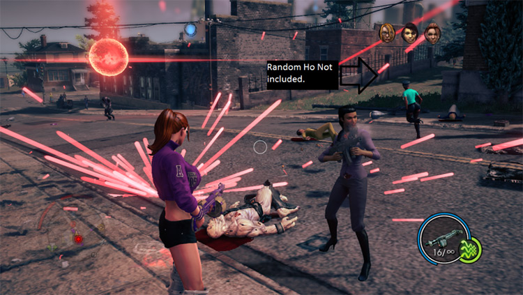 The Cabinet mod for SaintsRow4