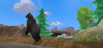 Zoo Tycoon 2 - bear exhibit screenshot