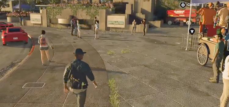 HD screenshot of Watch Dogs 2 gameplay