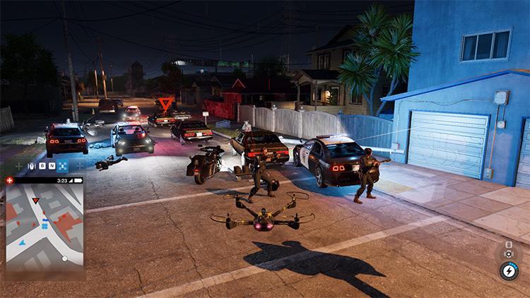 Rebalanced Police Mod