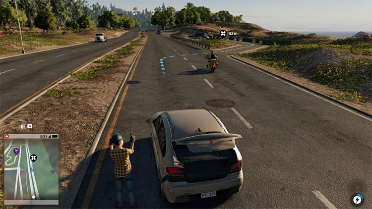 Less Intrusive GPS mod