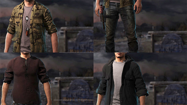 Player Clothing FC5 mod