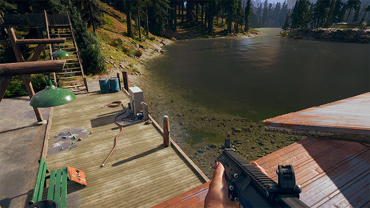 Simple and Realistic Reshade FarCry5 mod