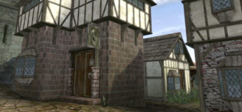 Morrowind world exterior of home, modded screenshot