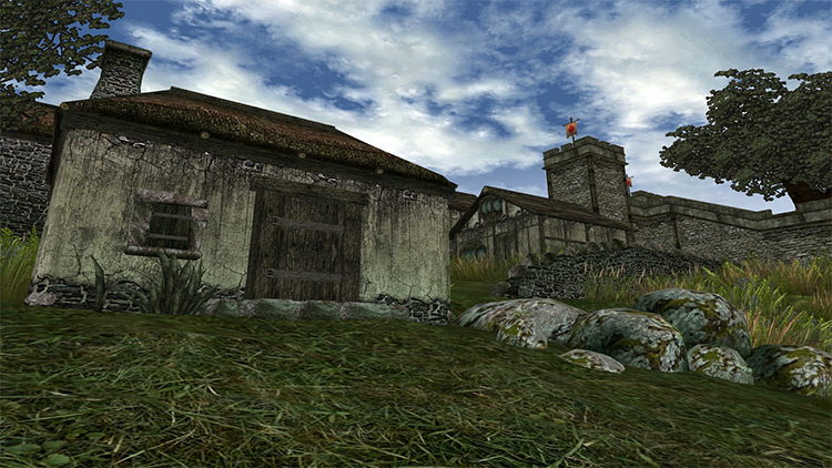 Morrowind Graphics enhanced mod preview