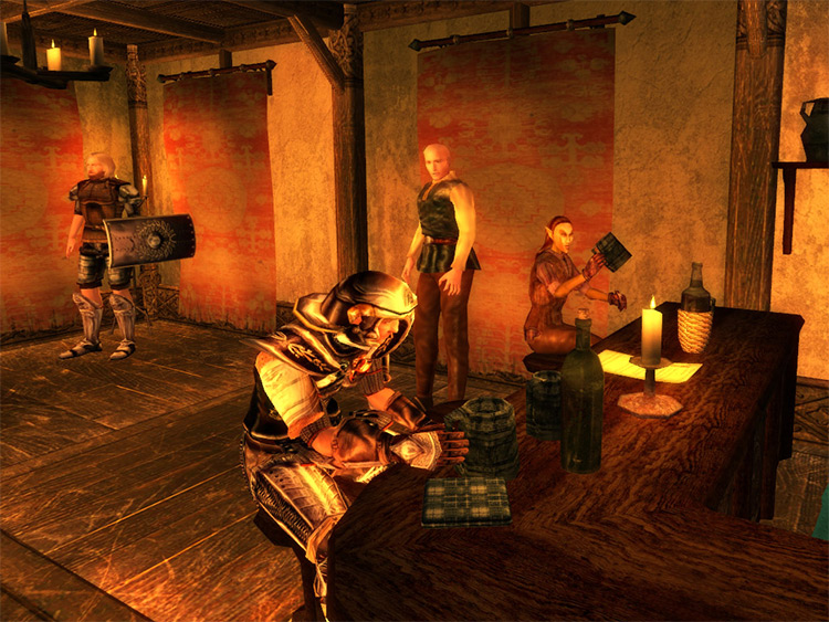 Morrowind Comes Alive mod