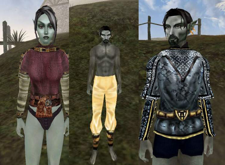 Better Clothes Morrowind mod
