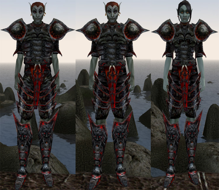 Better Morrowind Armor mod