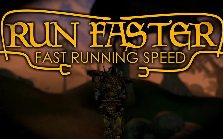 Run Faster in Morrowind