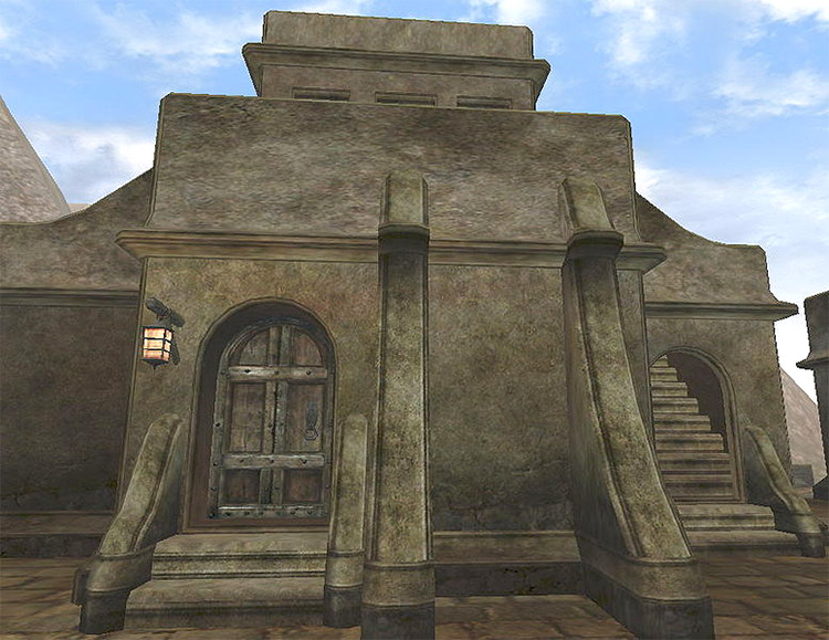 Nerano Manor in Morrowind