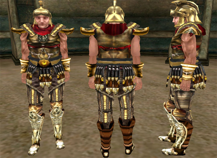 Imperial Templar Knight Armor for TES Morrowind