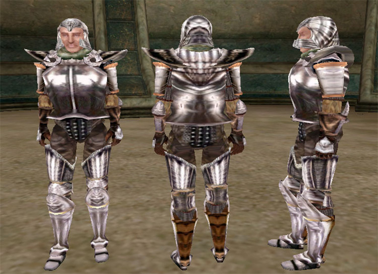 Imperial Silver Armor for TES Morrowind