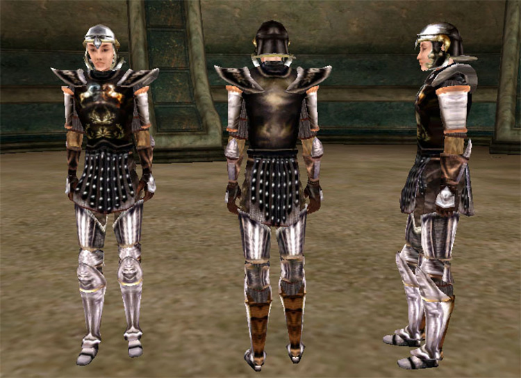 Imperial Steel Armor for TES Morrowind