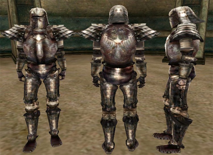 Iron Armor set for TES Morrowind
