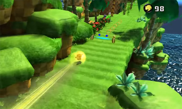 Sonic Gold mod