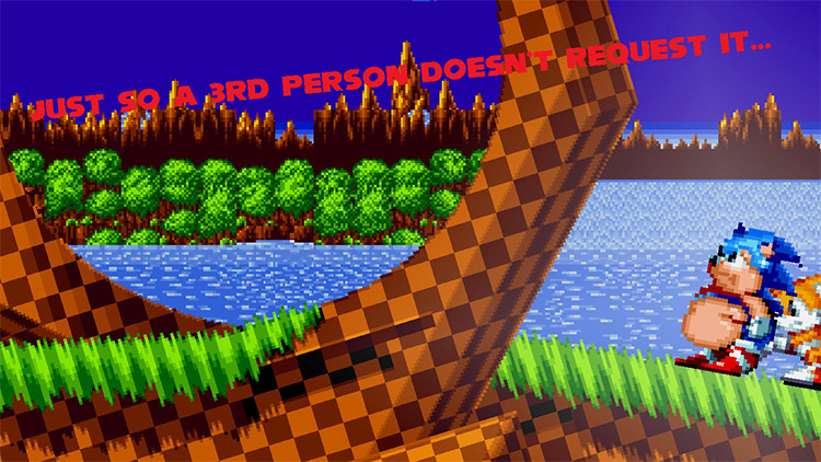 Sonic Mania XL mod