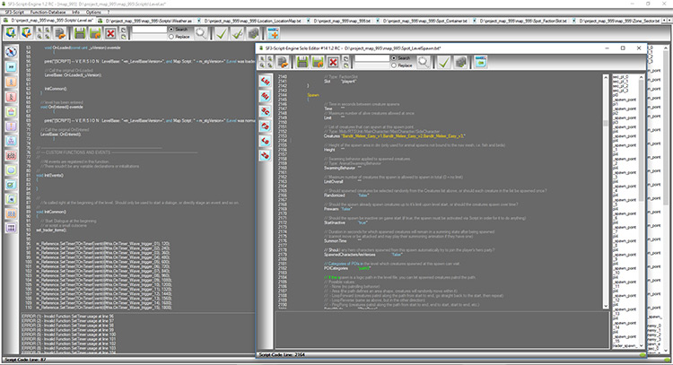 SF3 Script Engine mod