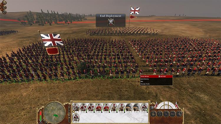 Unit Size Mod for Empire Total War