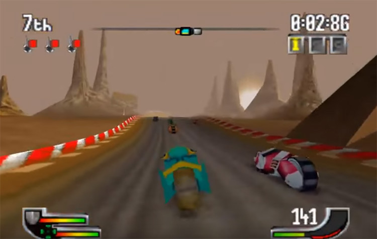 Extreme-G on N64