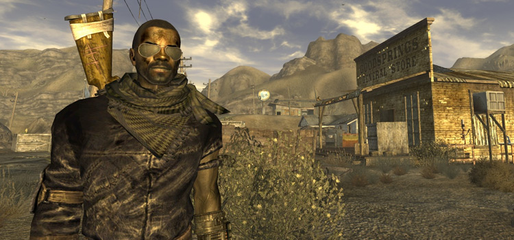 Scarf in Fallout New Vegas