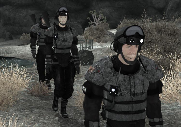 NCR Rearmament mod