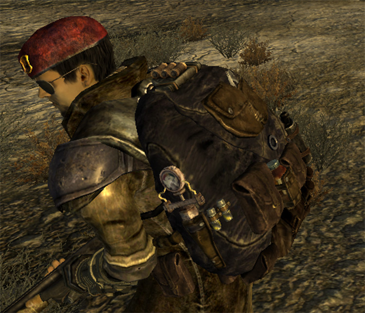 Leather Backpack New Vegas mod