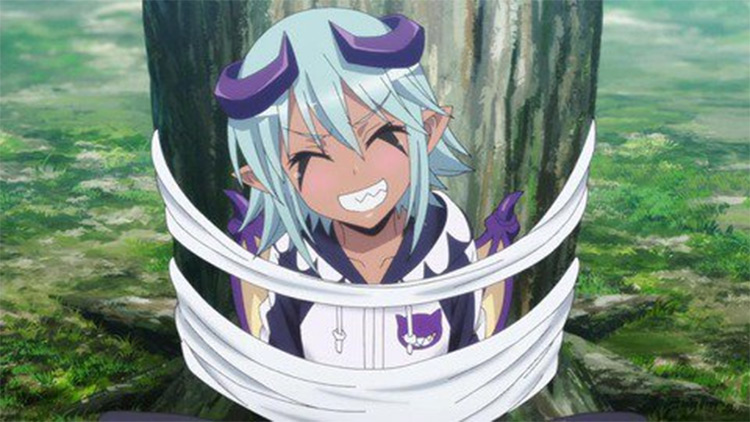 Lilith anime character from Monster Musume