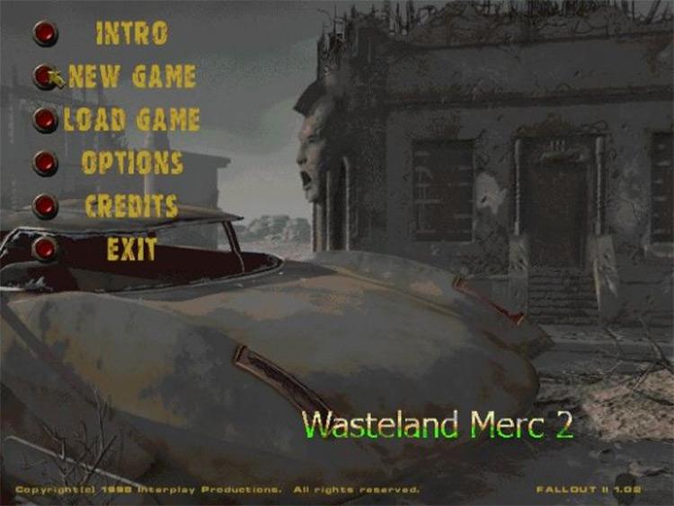 Wasteland Merc 2 mod
