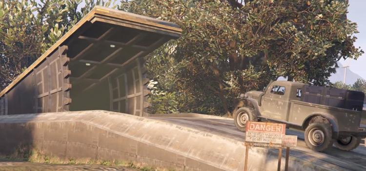 GTA Online bunker area - outside
