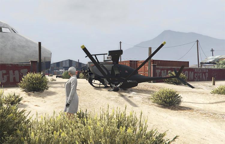 Thompson Scrapyard Bunker GTA Online