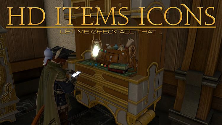 HD Item Icons mod