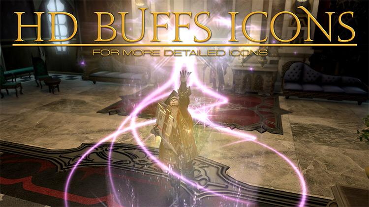 HD Buffs Icons FF14