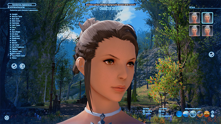 Touch of Real Female HD mod