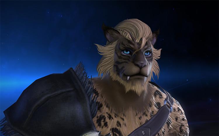 Hrothgar Faces in HD mod